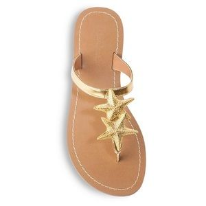 Lilly Pulitzer Embellished Starfish Sandals